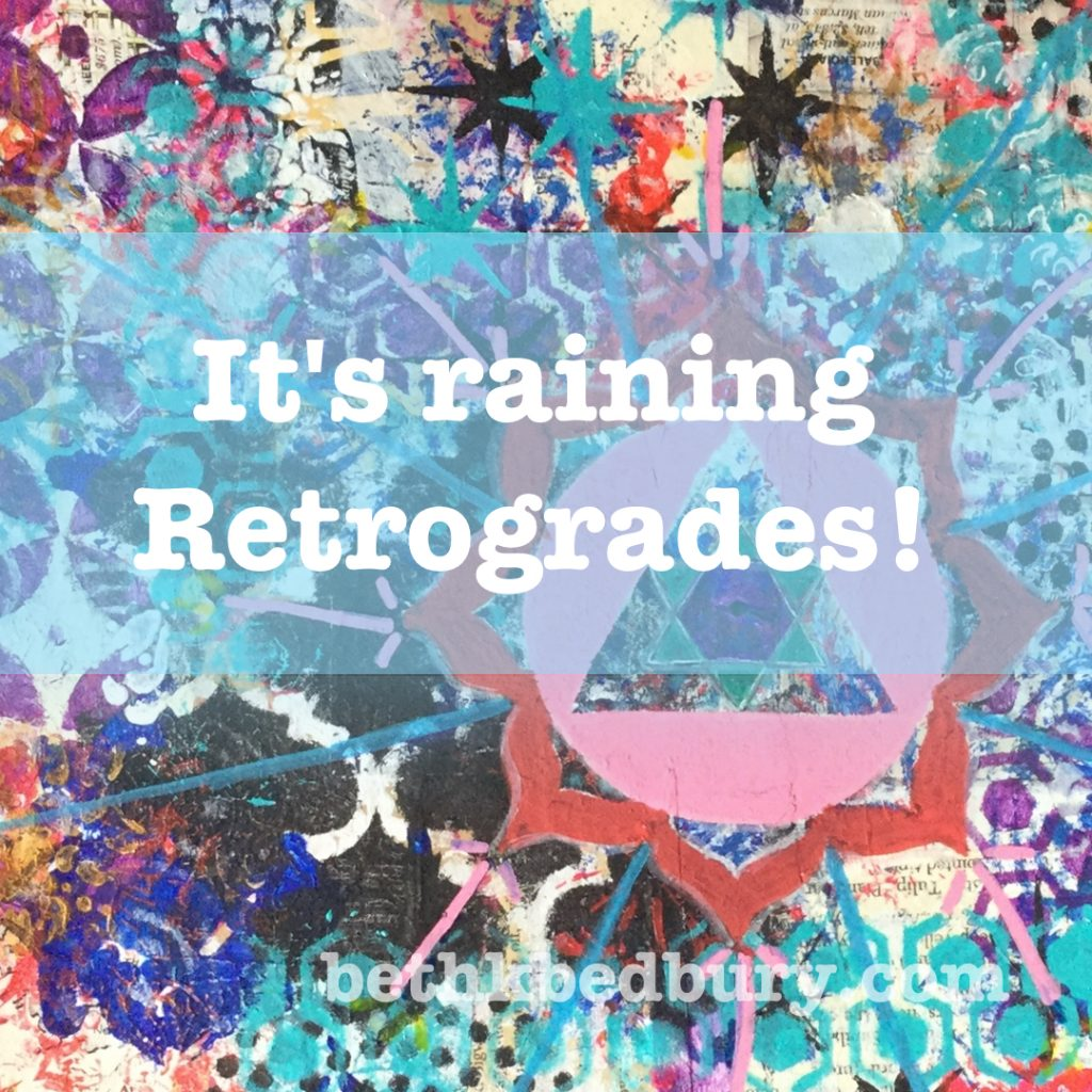 It is Raining Retrogrades in April