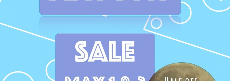 May Day Sale is around the corner!
