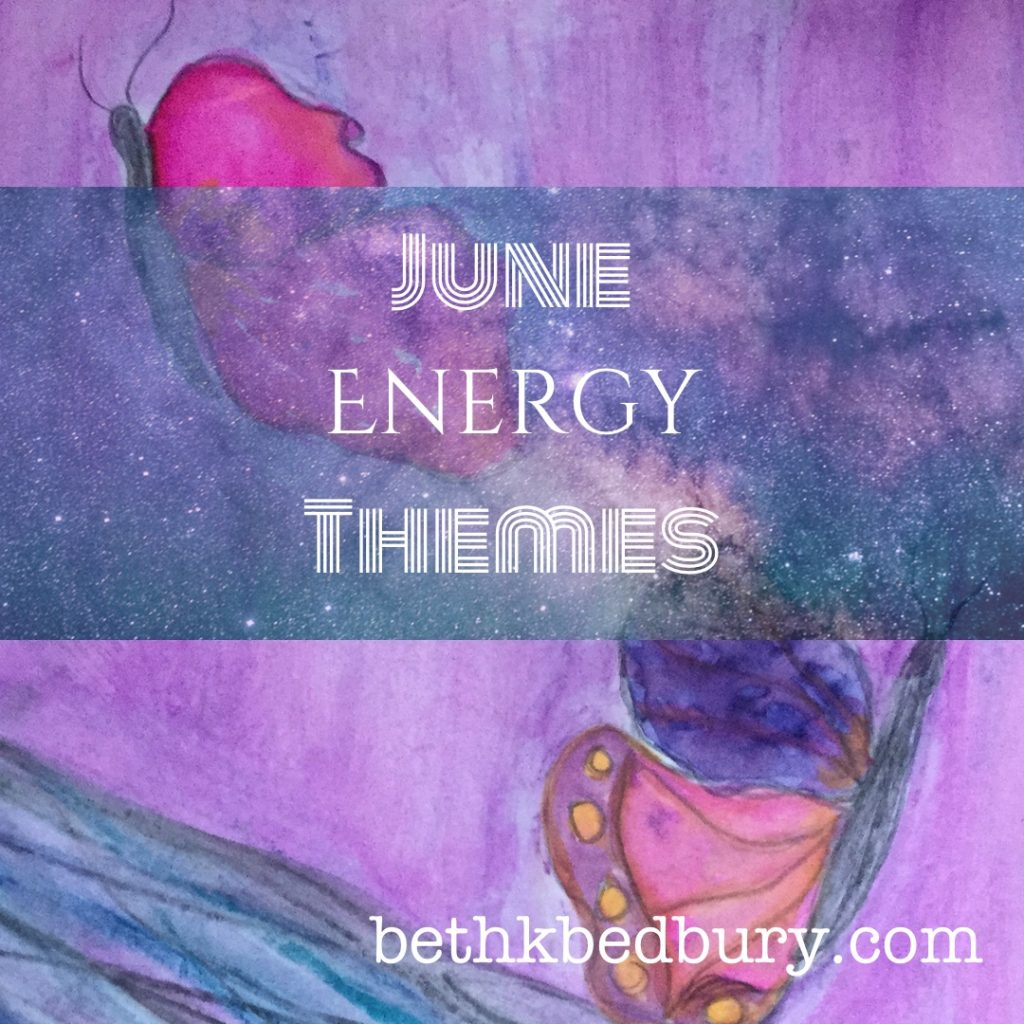 Here's what's being repeated over and over: June Energy Themes