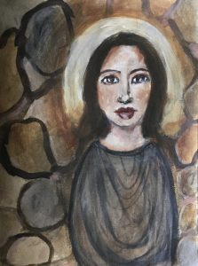 Cosmic Earth Allies - Stone Woman