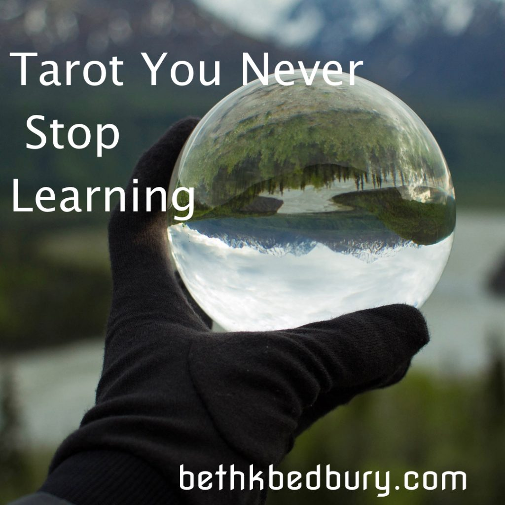 Tarot Never Stop Learning