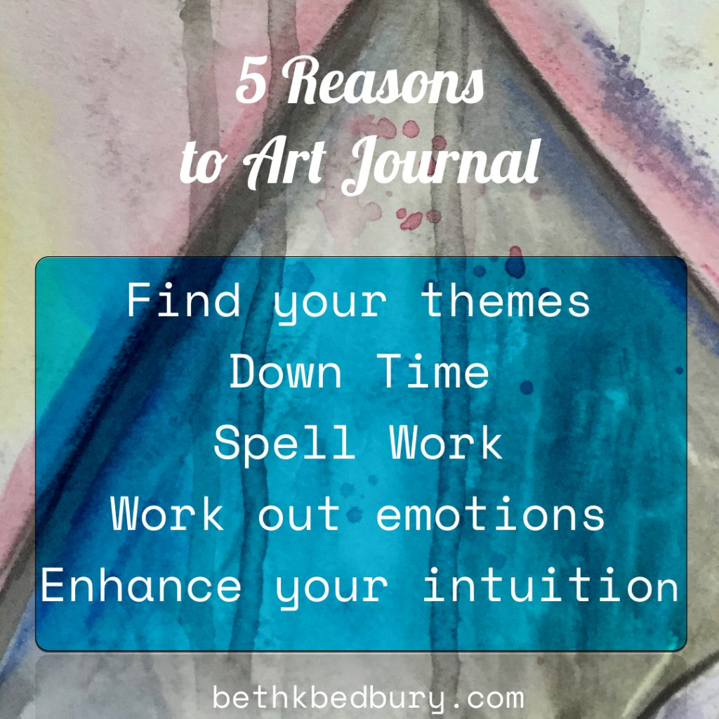 Why should you art journal even if you aren't an artist?