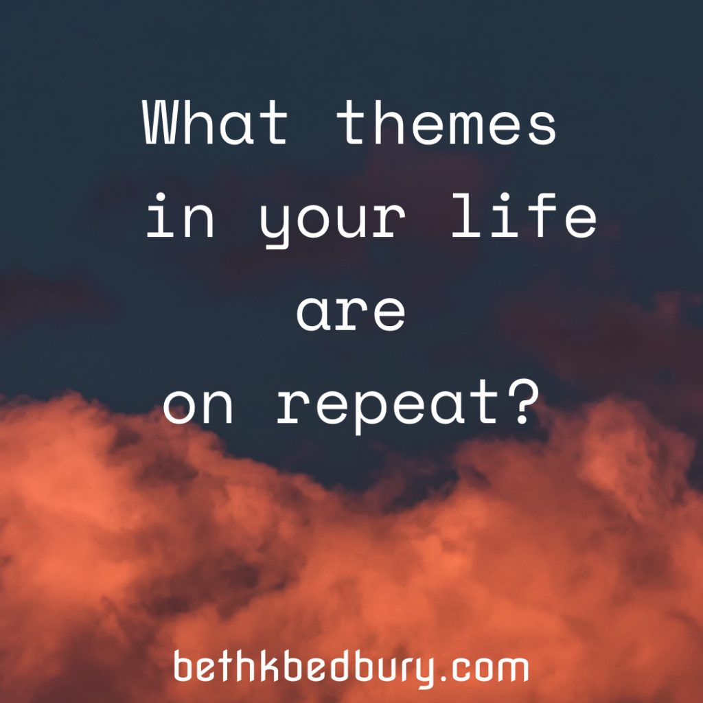 What themes are popping up for you?
