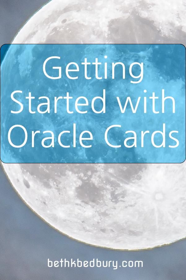 Getting Started with Oracle Cards