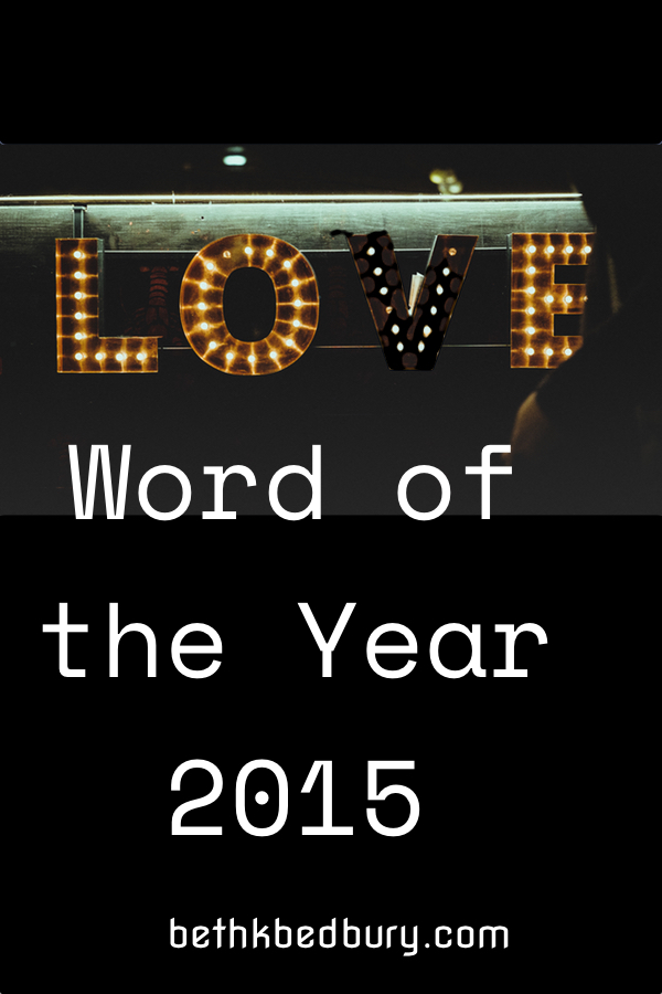 Love: Word of the year