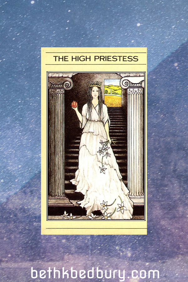 Three High Priestesses: The Daring Woman