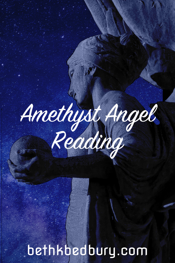 Transmute with the Amethyst Angel Reading