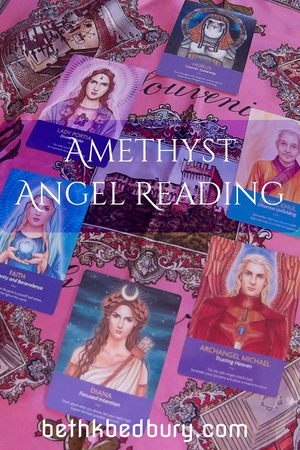 Amethyst Angel Reading
