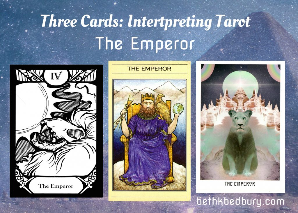 The Emperor - Three Cards Learning Tarot