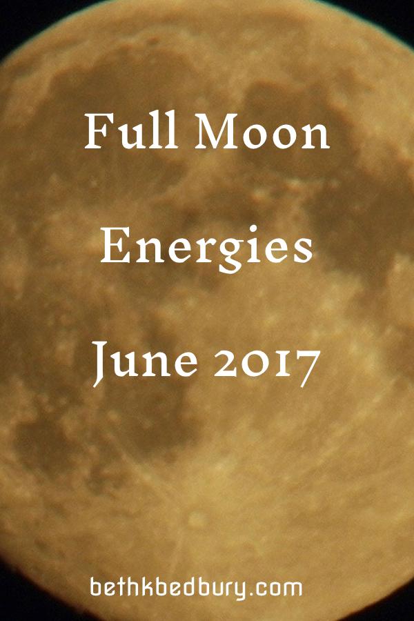 Full Moon June 2017