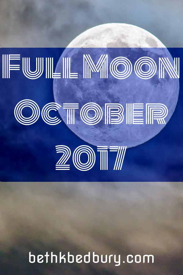 Full Moon October 2017