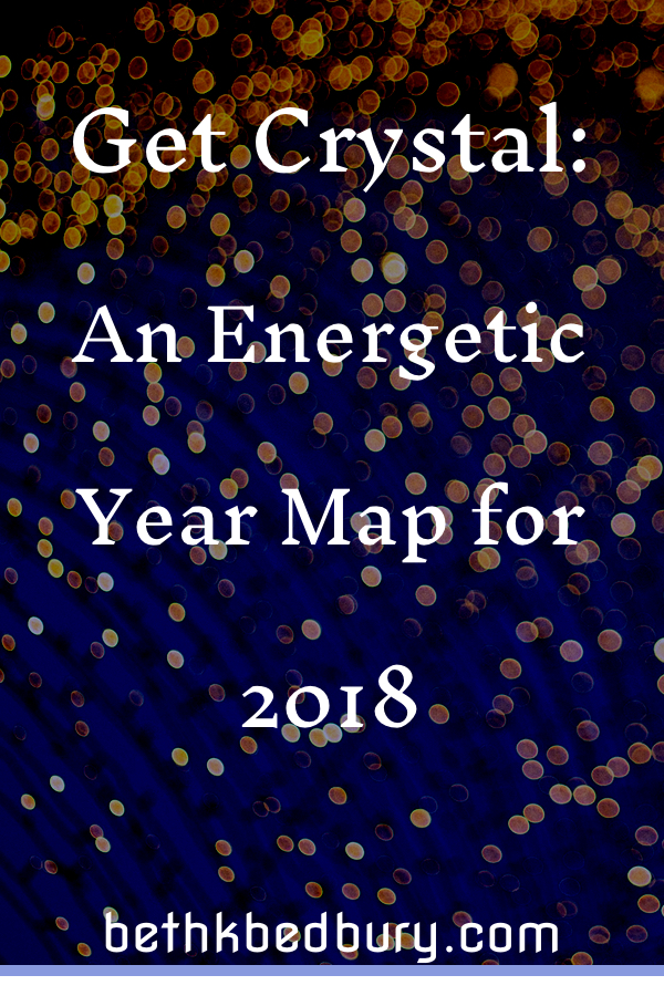 Get Crystal: an Energetic Year Map for 2018