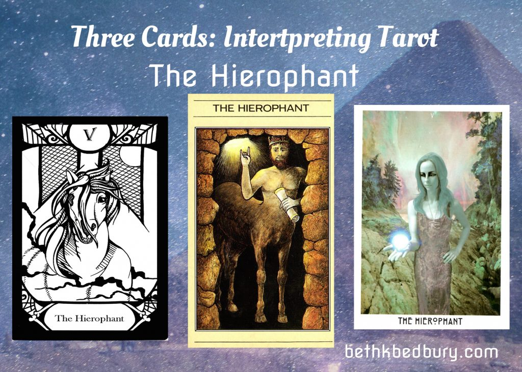 Three Hierophants: The Bearer of Knowledge