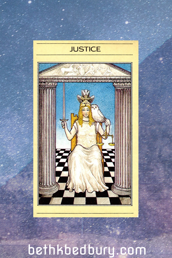 3 Justice: Interpreting Tarot