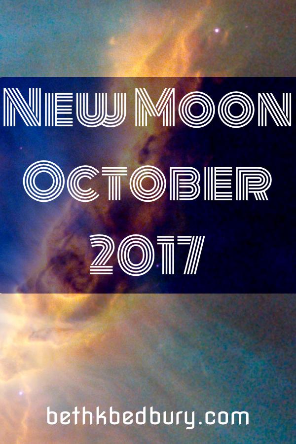 New Moon October 2017
