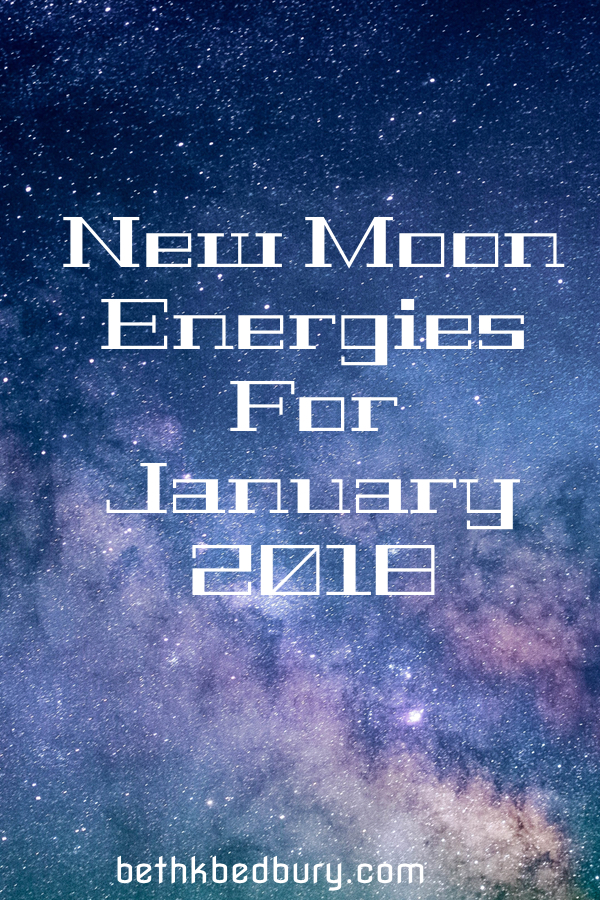 New Moon Energies & Heart Light Transmission for January 2018