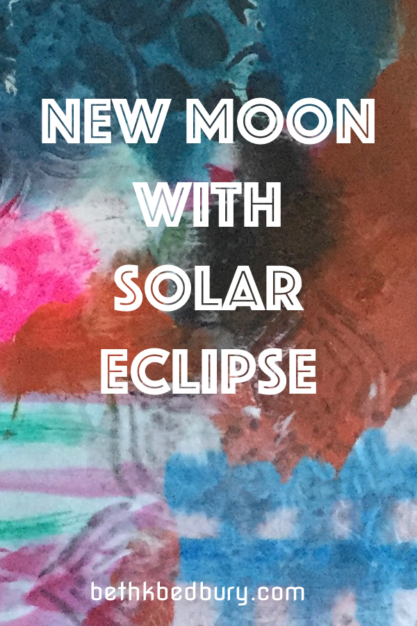 New Moon & Solar Eclipse Energies for August 2017