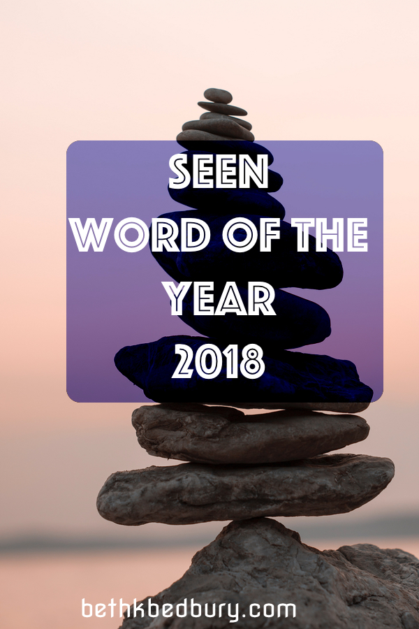 Seen - Strength - Boulder The Energies Guiding my 2018