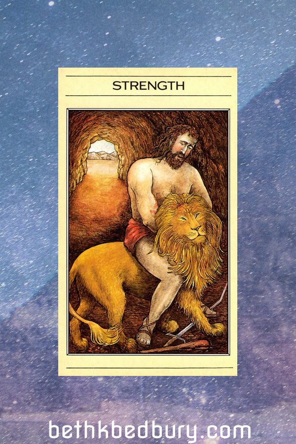Strength: Where does it live in you?