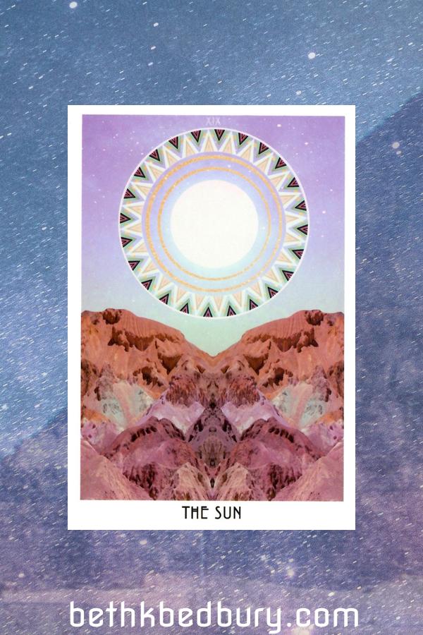 Three Suns Interpreting Tarot