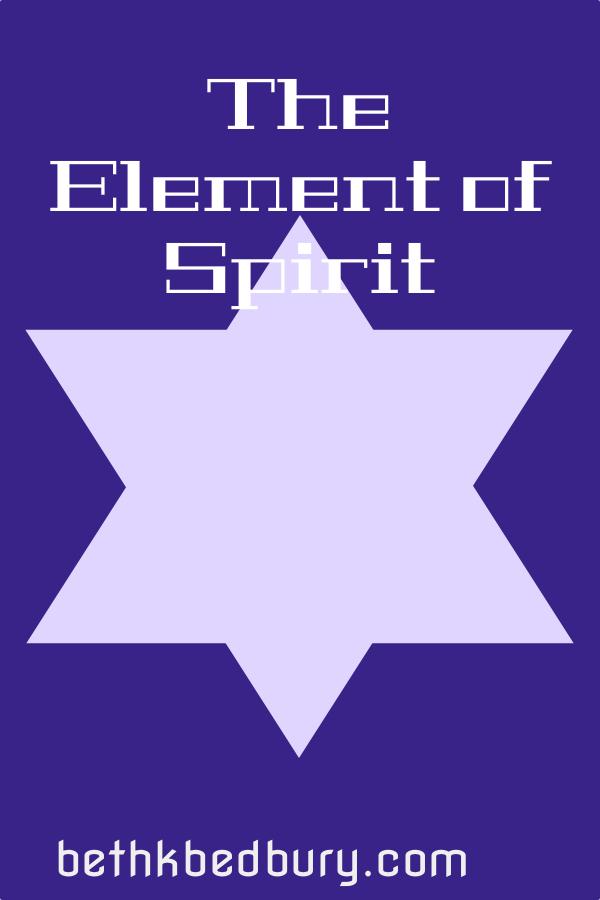 The Element of Spirit