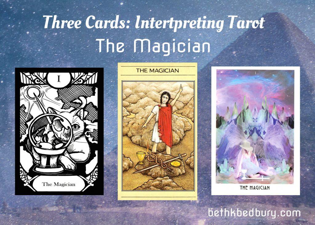 Three Magicians Interpreting Tarot
