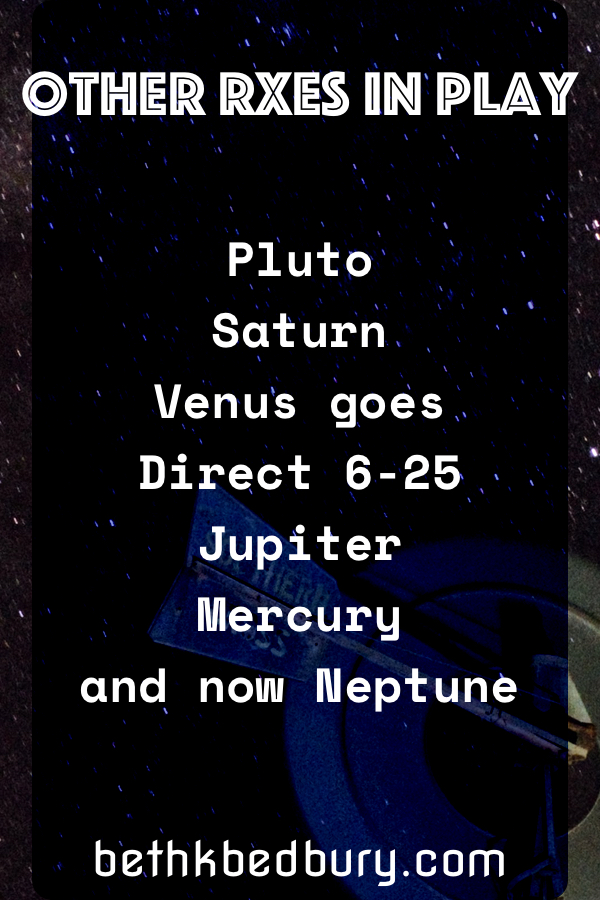 Neptune is Retrograde Along with 6 Other Planets