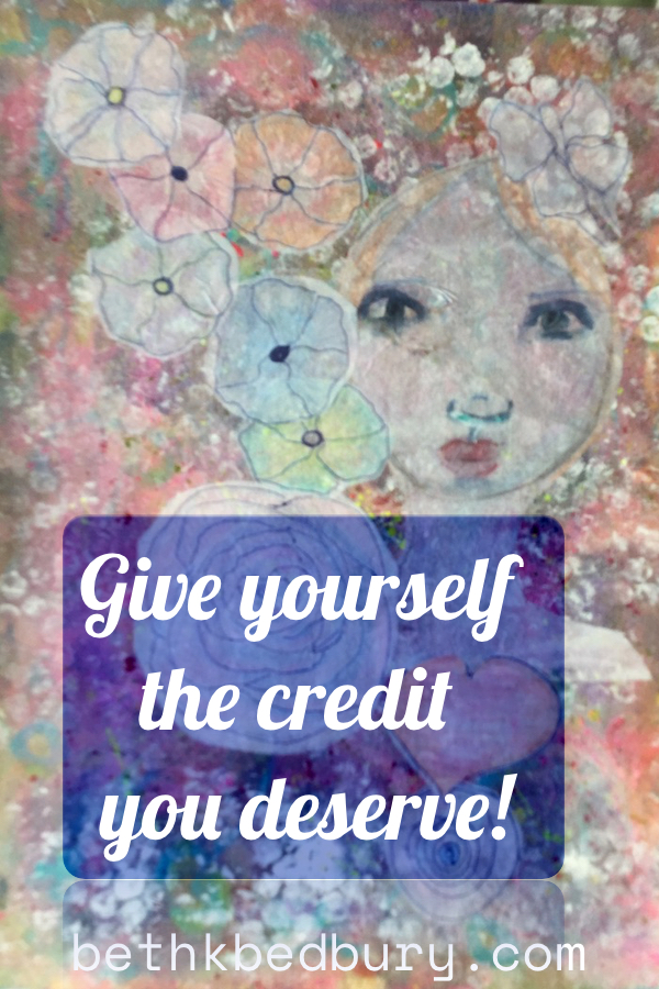Give yourself the credit you deserve Card Reveal