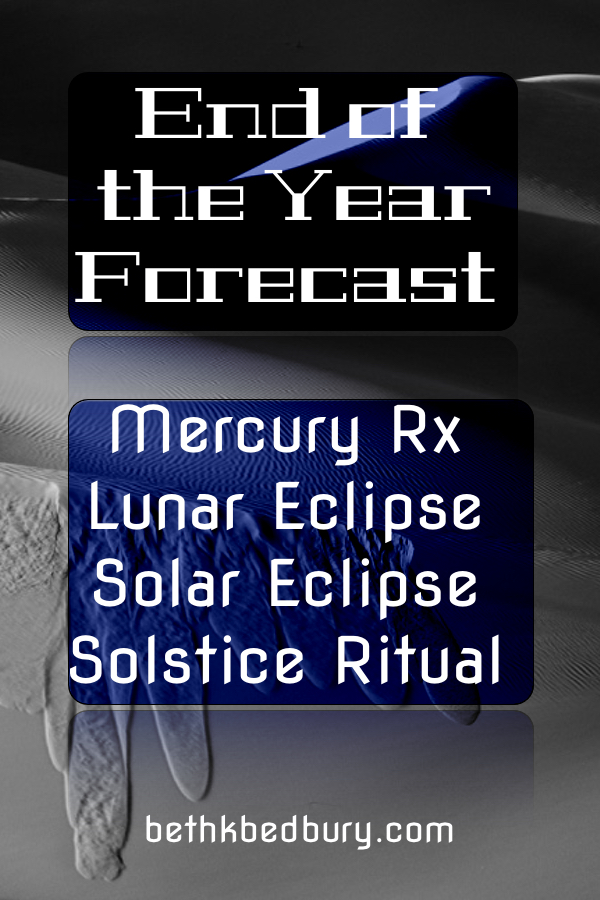 The End of Year Forecast for 2020